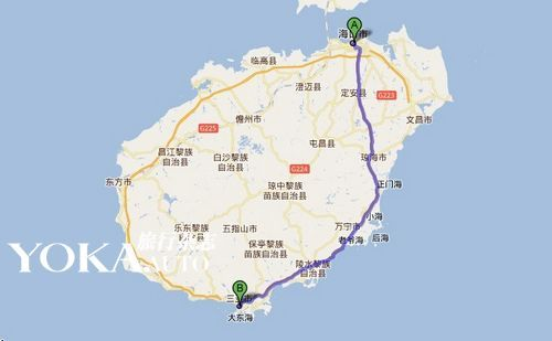 海南博鳌地图全图