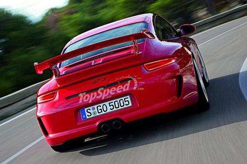 或2013年亮相 保时捷911 GT3效果图曝光高清图片