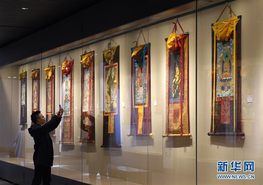 """(文化)(1)""""文创西藏""""巡展在南京开展"""