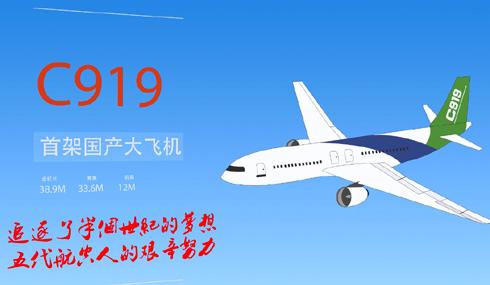 【动新闻】百秒速览C919