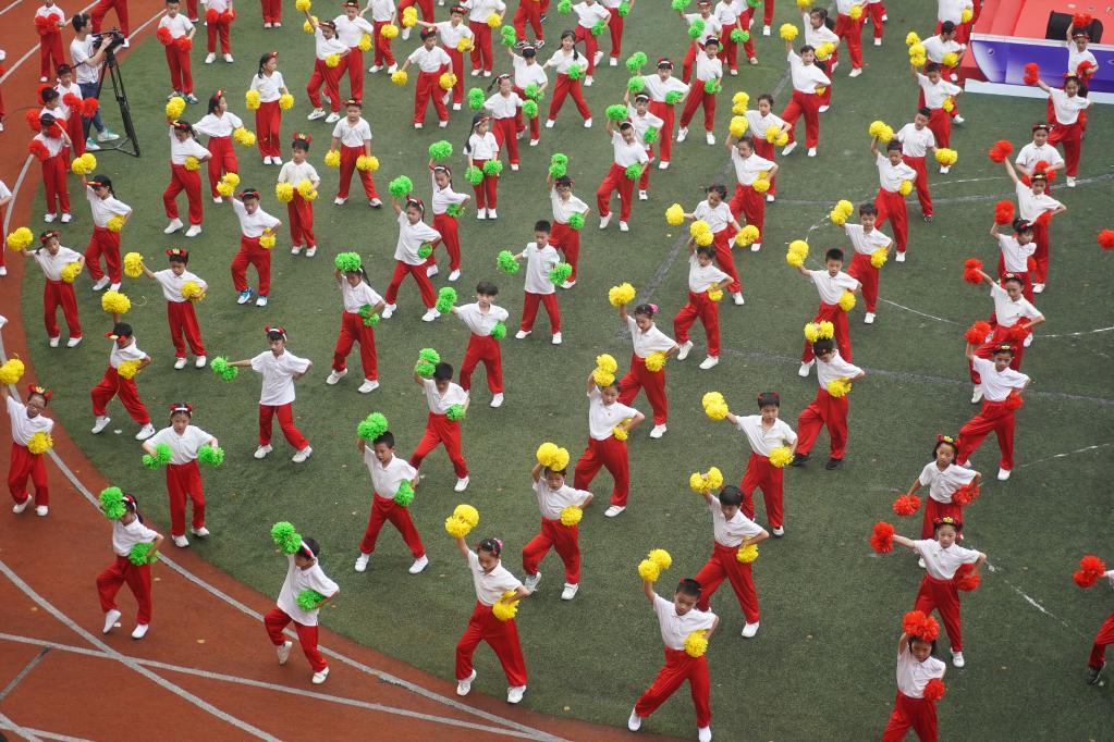 南京市朝天宫民族小学举办第十三届民族风情节