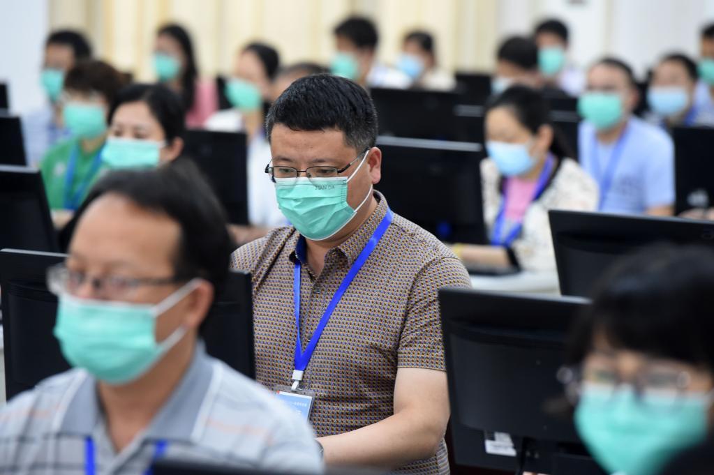 安徽省高考评卷工作有序进行