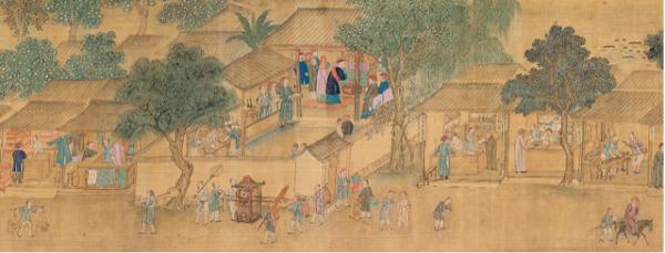 卧游时空 全球观众共赏古代中国风俗画