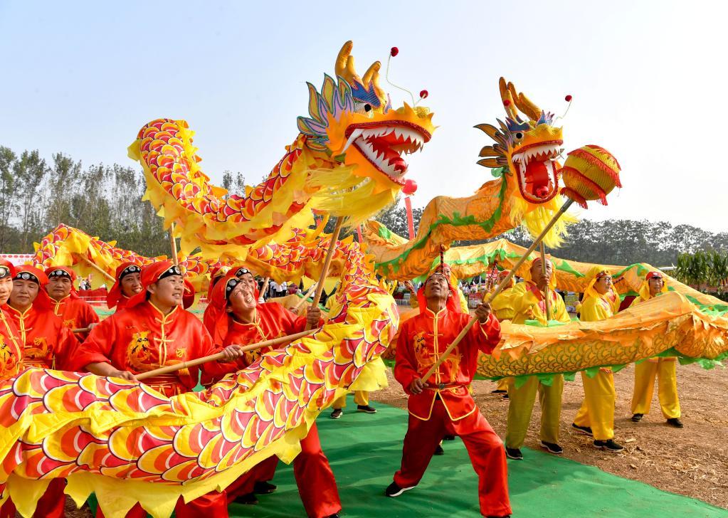 安徽亳州:多彩活動 歡慶豐收