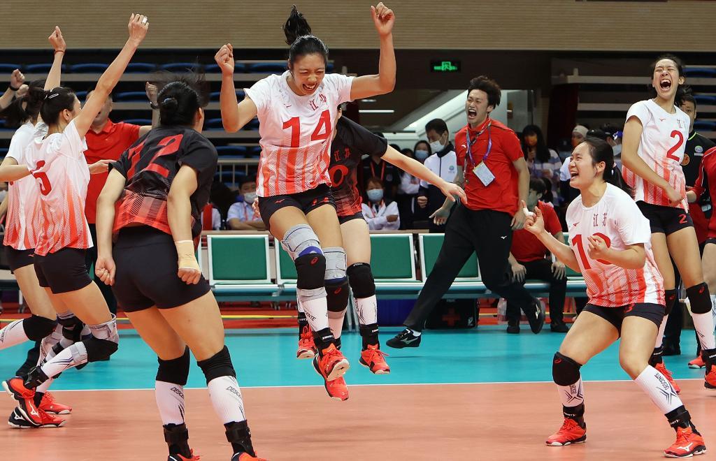 江蘇隊獲得女子U19組金牌