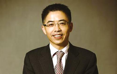 浙江互联网金融联盟联合主席贲圣林发表演讲