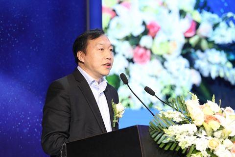 浦发银行战略发展部总经理李麟发表演讲