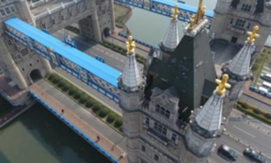 """蘇州現""""倫敦塔橋"""" 4座塔樓組成氣勢宏偉"""