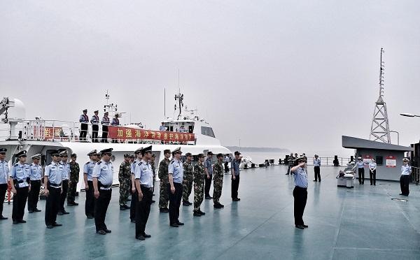 上海组织开展2017年度上海海域联合执法行动
