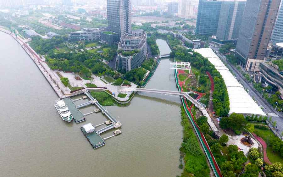 """黄浦江有多美?带你俯瞰上海45公里""""母亲河""""岸线"""