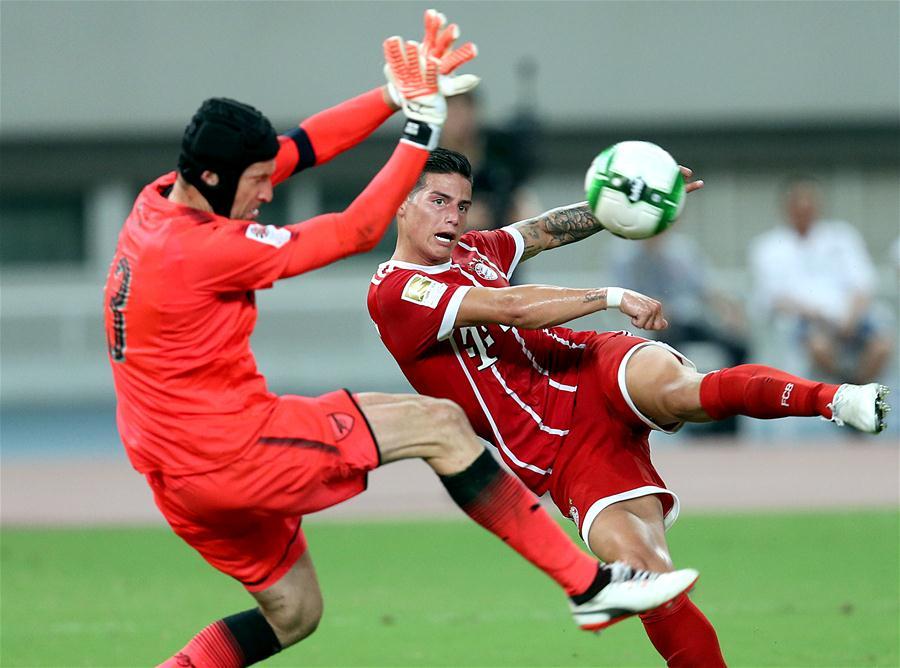 國際冠軍杯:阿森納3比2勝拜仁慕尼黑