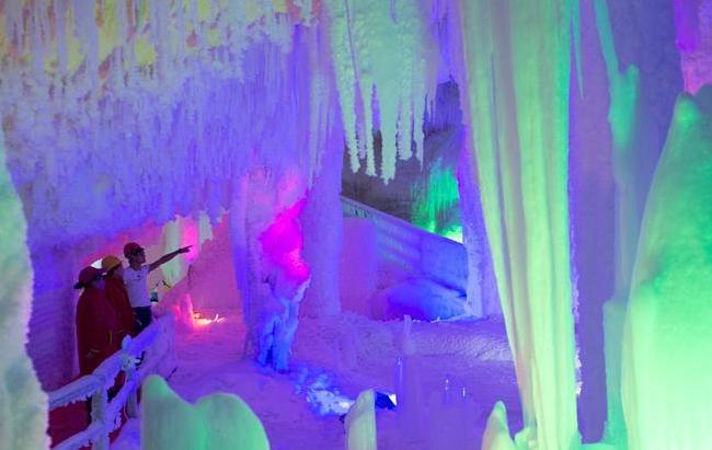 浙江:冰洞避暑游