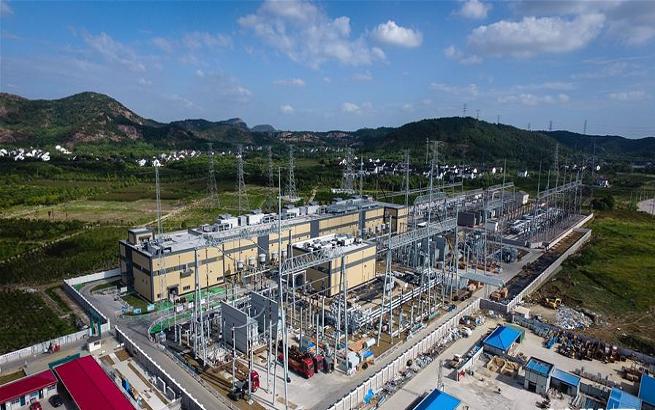 """江苏苏州500千伏""""统一潮流控制器""""示范工程进入电气设备安装调试阶段"""
