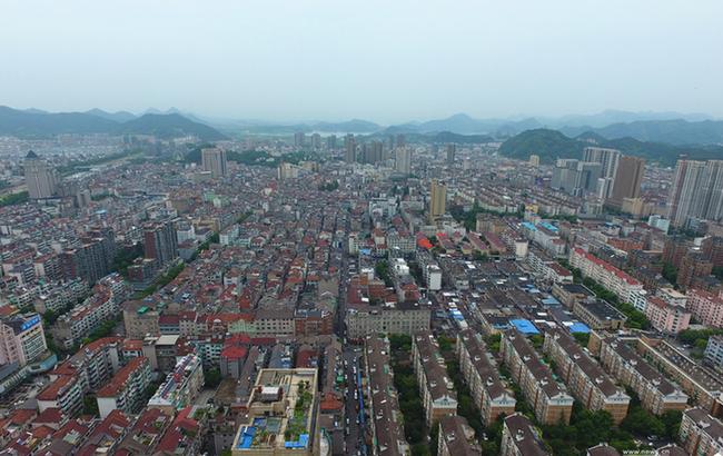 """航拍杭州""""最新""""的區—臨安"""