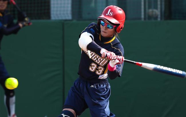 垒球——循环赛:江苏胜上海