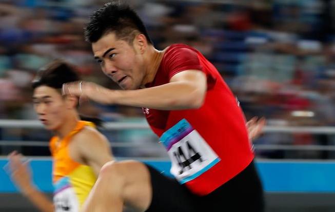田径——男子110米栏:谢文骏晋级决赛