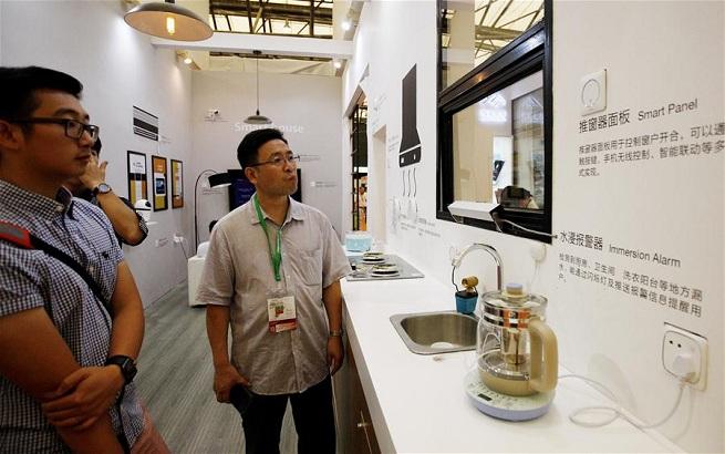 2017上海国际智能家居展览会举行