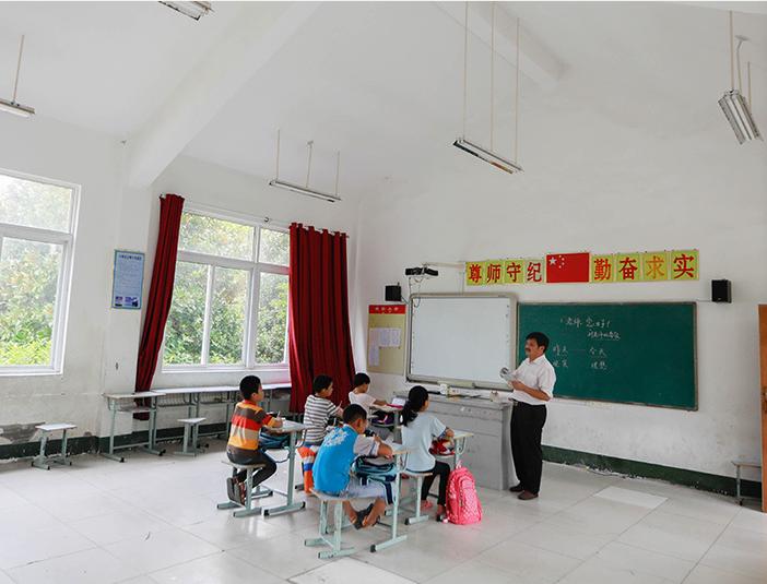 """探访苏皖边界""""微小学"""":4名老师教9名学生"""