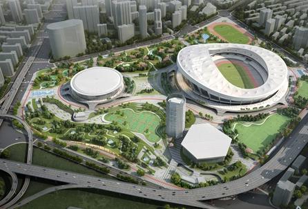 徐家汇体育公园9月已开工建设 新建综合体将达6万平米