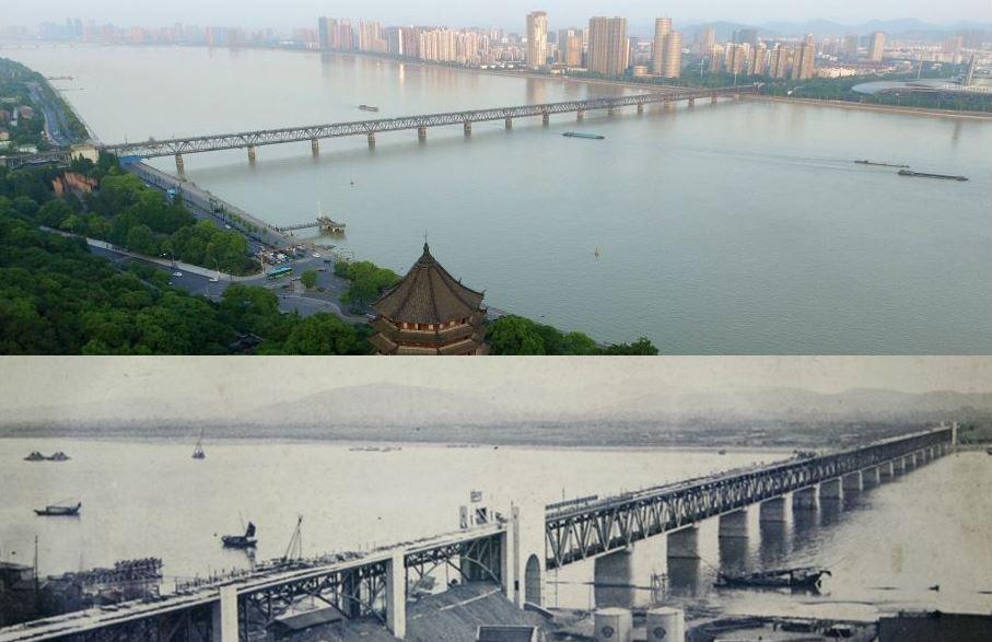 杭州钱塘江大桥迎来80岁生日