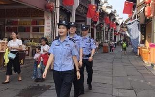 国庆长假安徽日出警力3万名 社会治安持续平稳