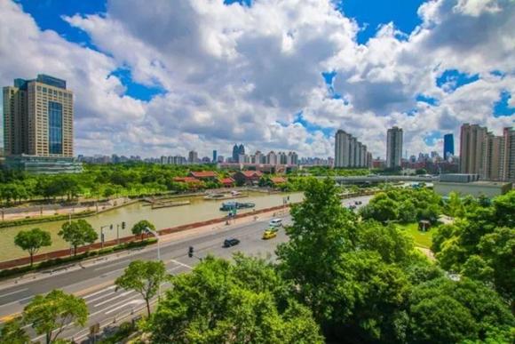 苏州河开建3.7公里健身步道!预计年底前完工