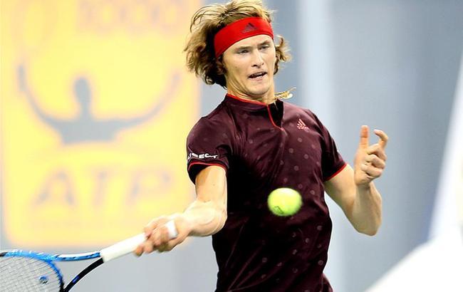 上海网球大师赛:兹维列夫晋级下一轮