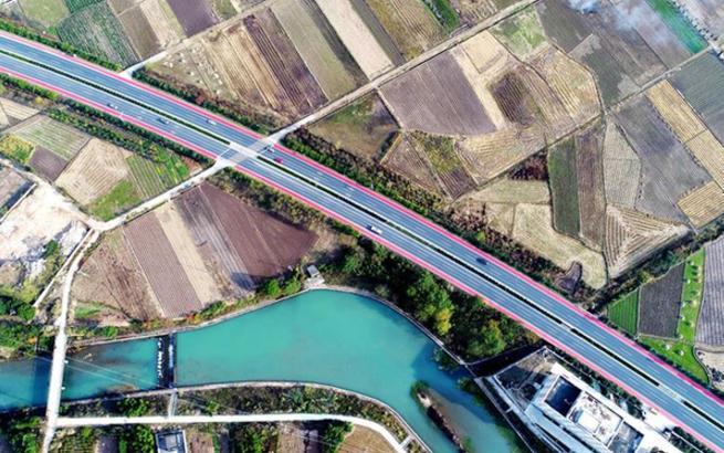 浙江仙居现彩色公路
