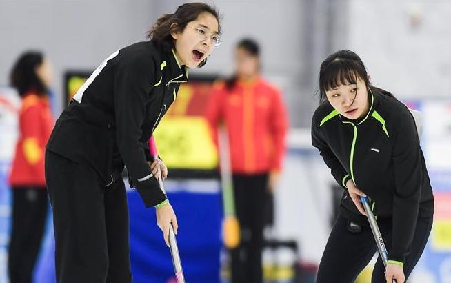 冰壶——全国冰壶锦标赛第二比赛日赛况