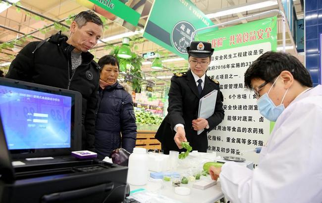 """安徽淮北:""""你点我检"""" 共筑食品安全"""