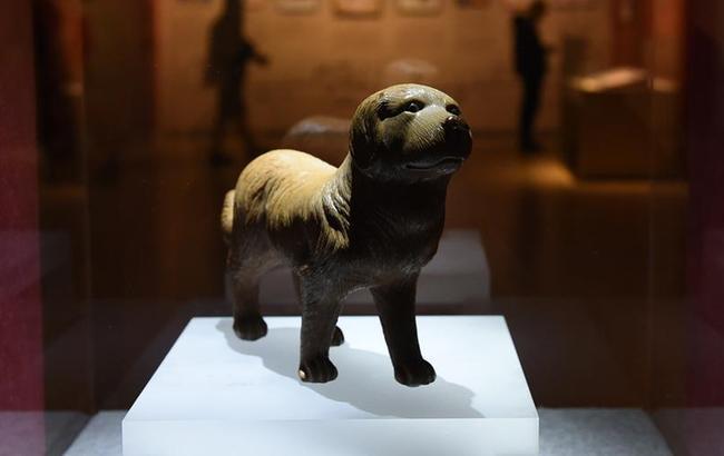 """南京博物院举办""""幸运狗""""院藏犬文物展"""