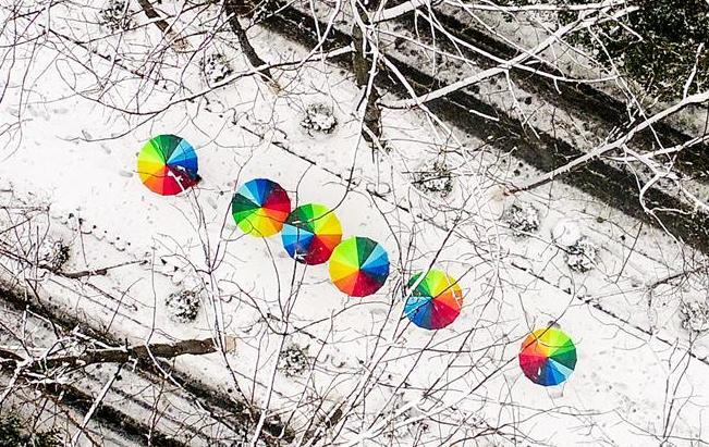 安徽:雪中景