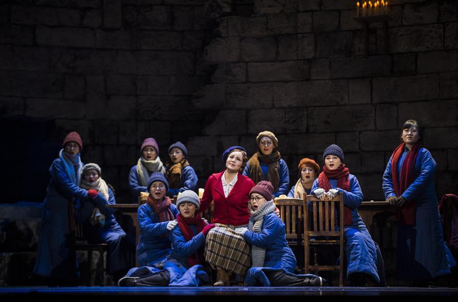 第三届中国歌剧节闭幕 原创歌剧《拉贝日记》压轴