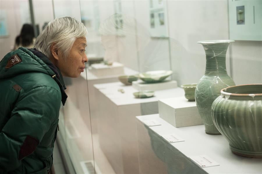 """""""大元·仓——太仓樊村泾遗址出土文物展""""在浙江举行"""