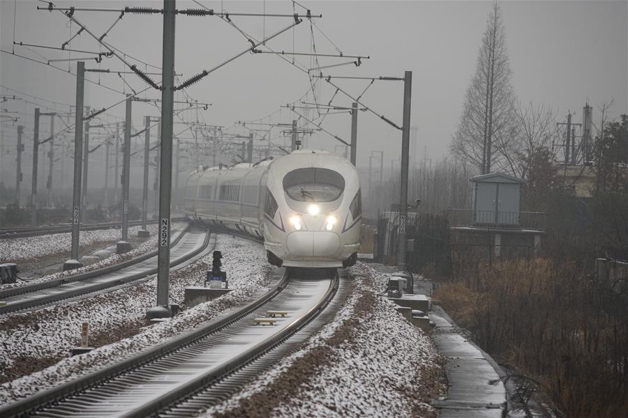 受降雪天气影响 长三角铁路多趟列车晚点
