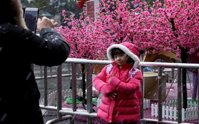上海雨雪天气继续