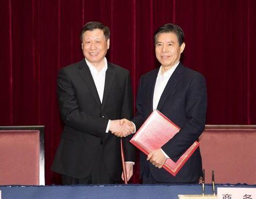商务部上海签署协议:办好中国国际进口博览会