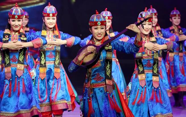 上海儿童艺术剧场上演蒙古族歌舞专场