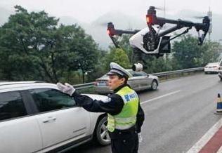 """安徽:无人机""""交警""""助力交通管理"""