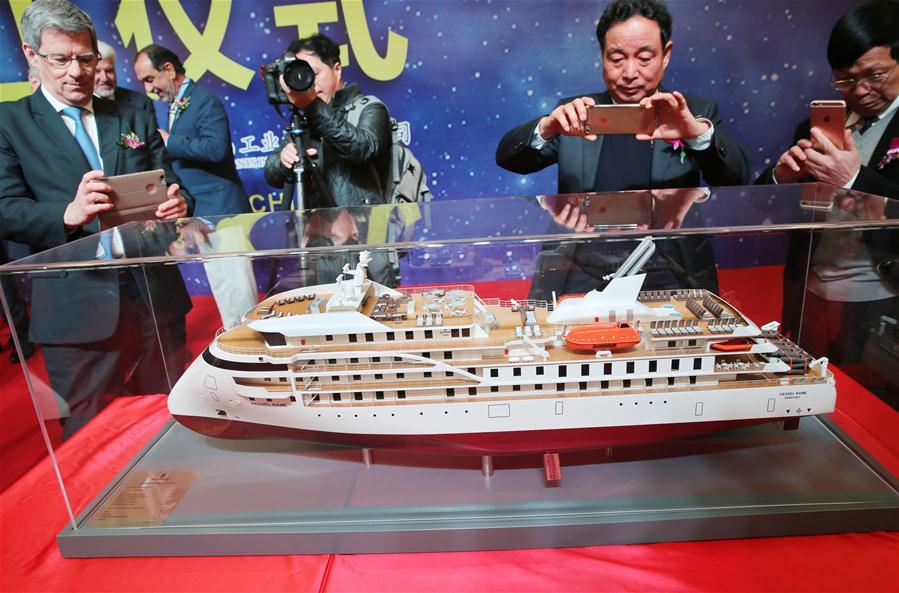 招商局重工开工建造极地探险邮轮