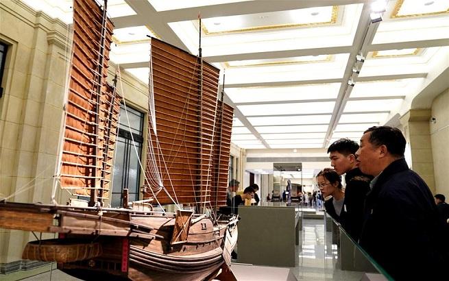 上海市历史博物馆正式免费对外开放