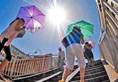 最高37.4℃,破历史记录 安徽未来几天还将持续高温