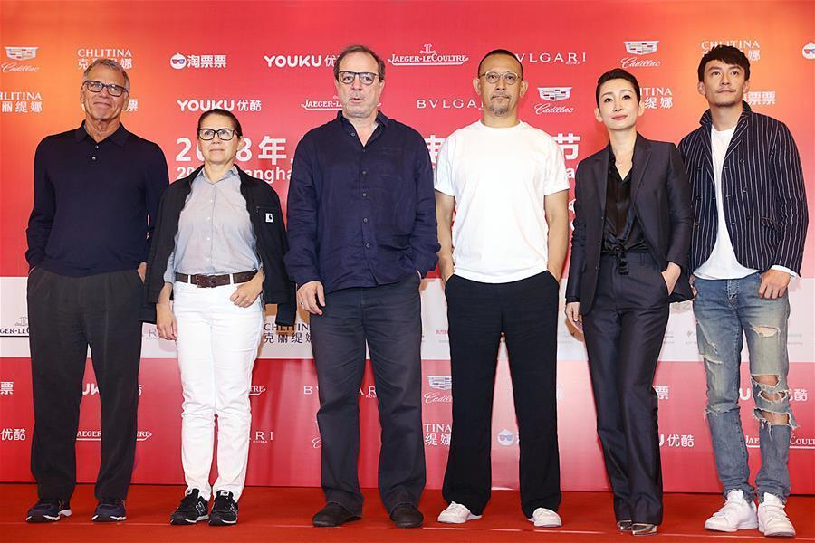 第21屆上海國際電影節金爵獎評委見面會在滬舉辦