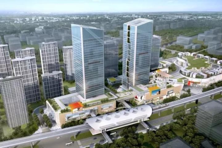 杭州青山湖科技城四大项目开工