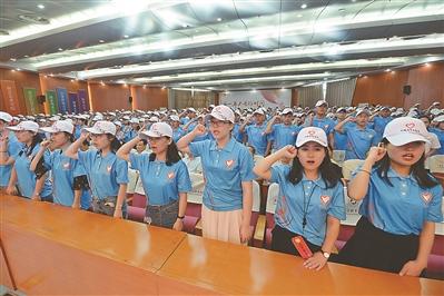 1160名大学生志愿者出征 将走进西北和苏北五市服务基层一年