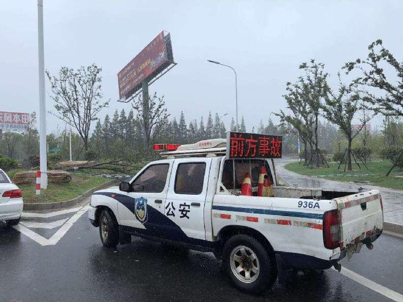 受台风影响,江苏内河渡口停航长途班车停运