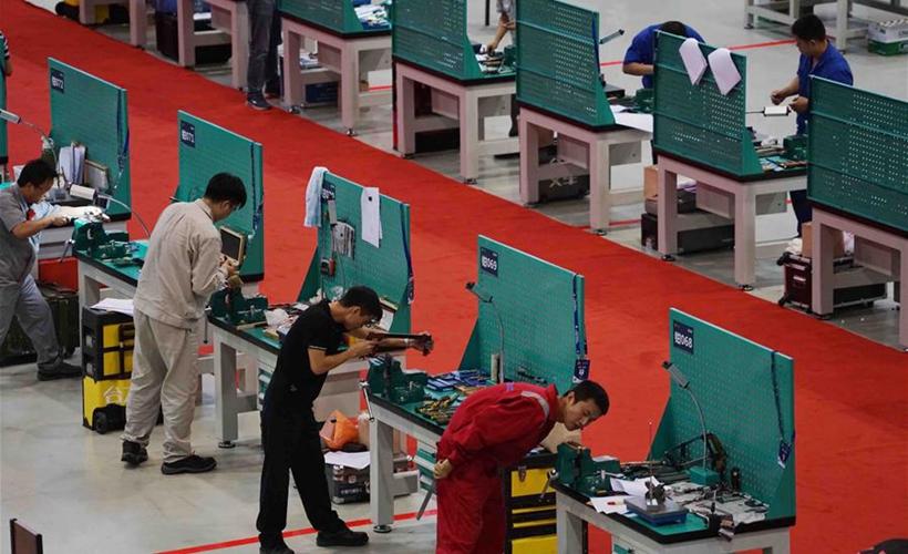 第六届全国职工职业技能大赛决赛在南京开幕