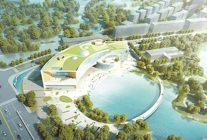 """""""从大地走向天空"""" 上海少年儿童图书馆新馆将开建"""