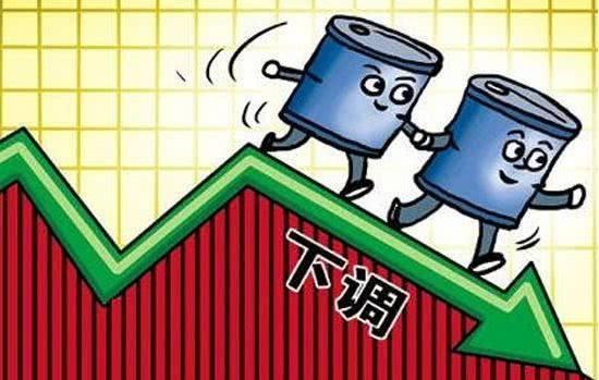 """安徽油價迎來""""四連跌"""" 92號汽油每升6.71元"""
