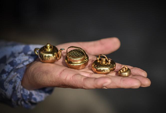 硬币大的汤婆子你见过吗?探秘老物件迷你化新做法